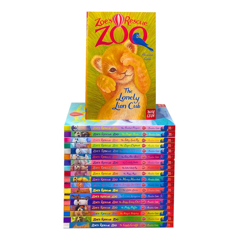 Zoe's Rescue Zoo Collection 19 Book Set Collection By Amelia Cobb