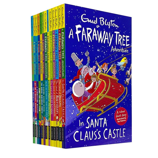 A Faraway Tree Adventure A Wishing Chair Adventure By Enid Blyton 13 Book Set Collection