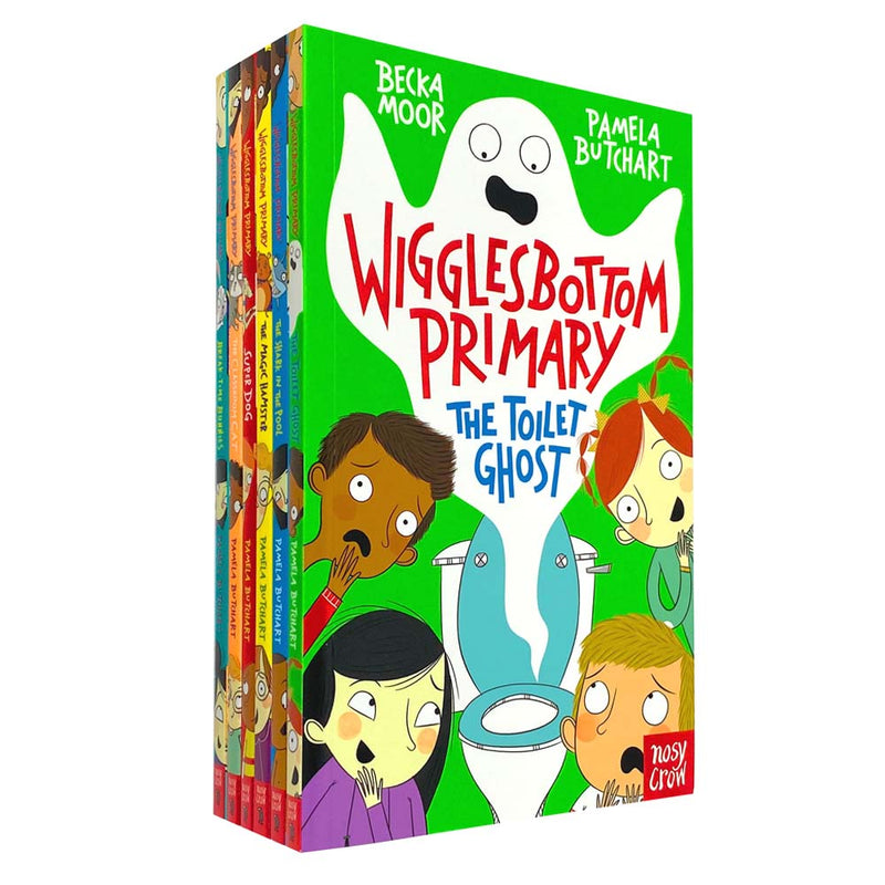Wigglesbottom Primary Series by Pamela Butchart 6 Books Collection Set
