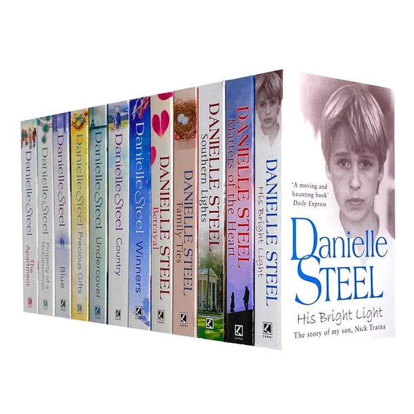 Danielle Steel Collection 12 Books Set