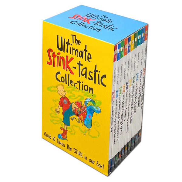 The Ultimate Stink-tastic Collection 10 Books Box Set By Megan McDonald