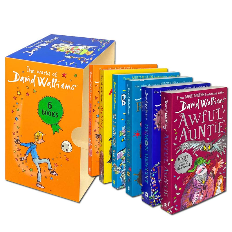 The World of David Walliams 6 Books Children Collection Set Paperback