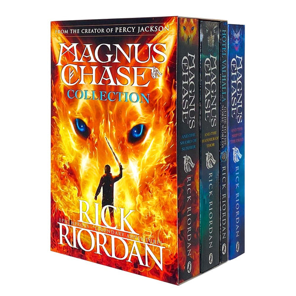 Magnus Chase 4 Books Set Collection by Rick Riordan