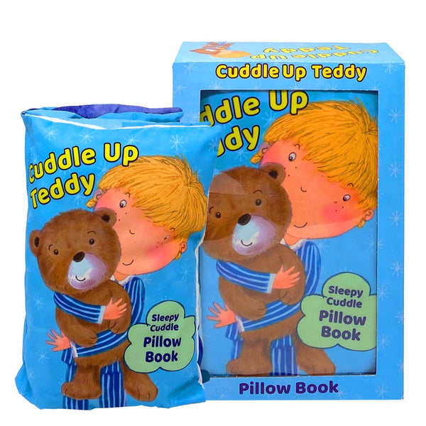 Cuddle Up Teddy Pillow Book By Heather Heyworth