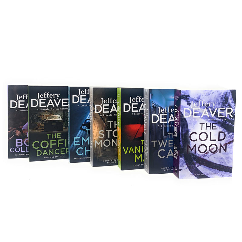 Lincoln Rhyme Thrillers Series 7 Books Adult Set Paperback By Jeffery Deaver