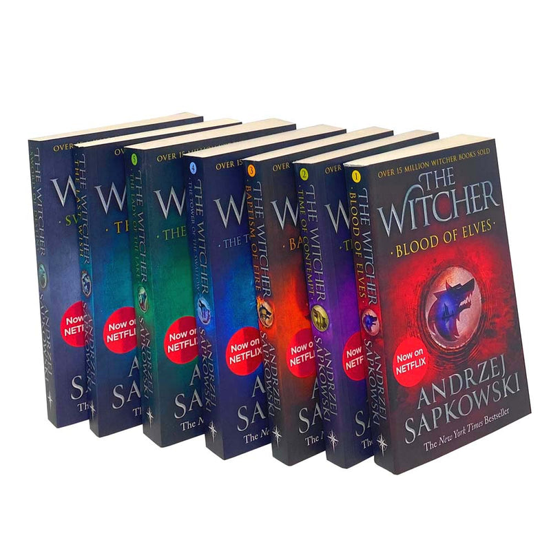 The Witcher Series Andrzej Sapkowski 7 Books Collection Set Inc The Last Wish - Netflix