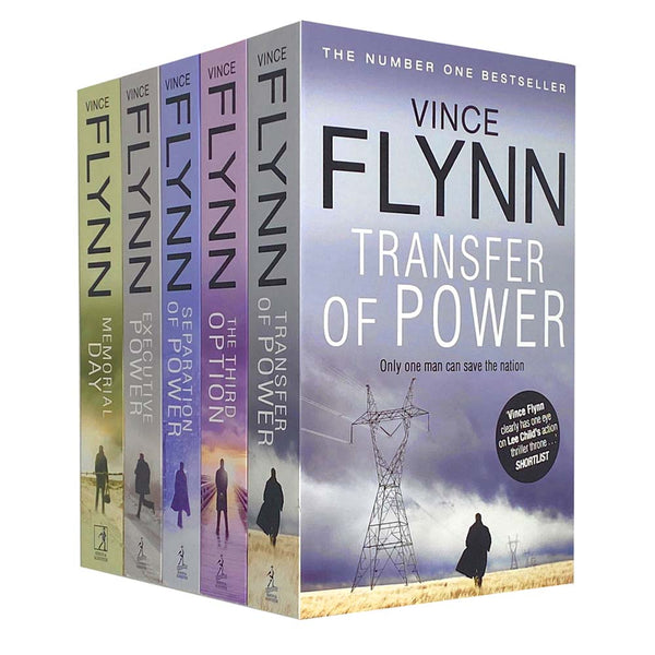 Mitch Rapp Novel Series, 5 Books Set Collection by Vince Flynn