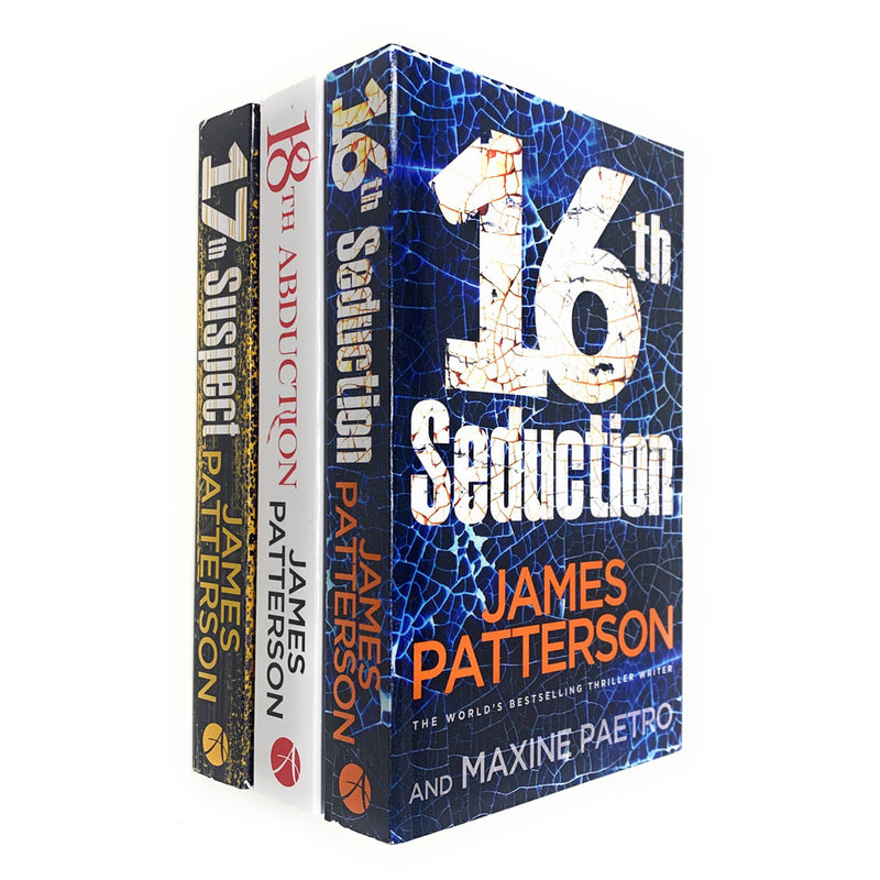 Women's Murder Club Series (16-18) Collection James Patterson 3 Books Set