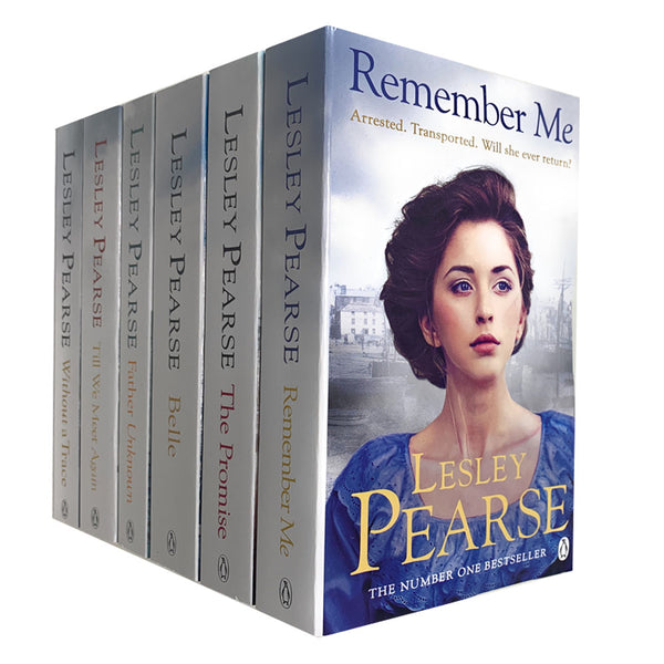 Lesley Pearse 6 Books Collection Set (The Promise, Without a Trace, Belle)