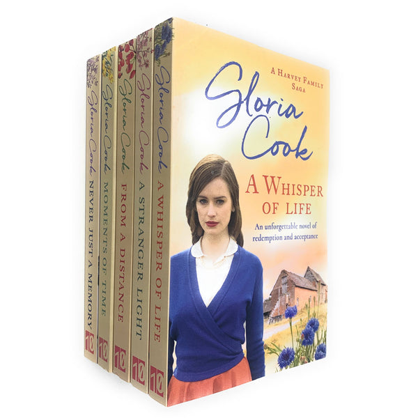 Gloria Cook A Harvey Family Saga Series 5 Books Collection Set Brand NEW