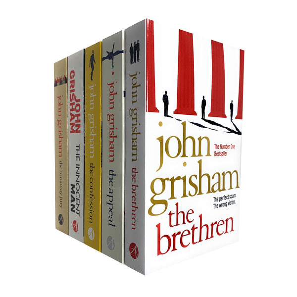 John Grisham Collection 5 Books Set - The Appeal, The Brethren, The Runaway Jury