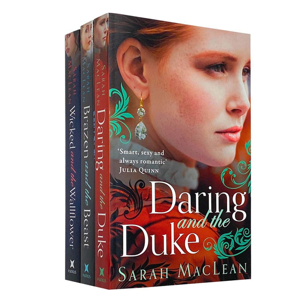 The Bareknuckle Bastards Series 3 Books Collection Set by Sarah MacLean