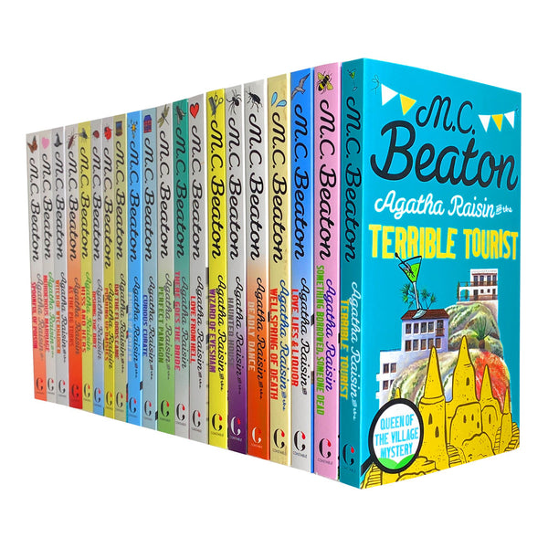 Agatha Raisin 20 books Set Series 2 and 3 by M C Beaton, Haunted House, Perfect Paragon...
