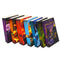 Harry Potter Book Set The Complete Collection by J.K. Rowling Paperback Purple *NO BOX INCLUDED*