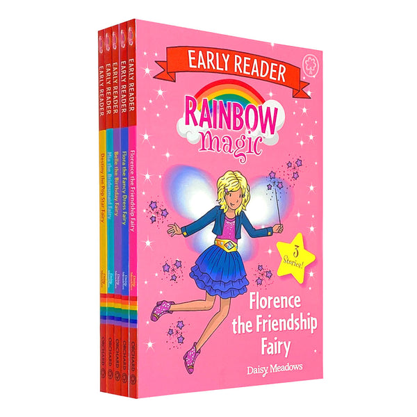 Rainbow Magic Early Reader 5 Books Set Collection by Daisy Meadows