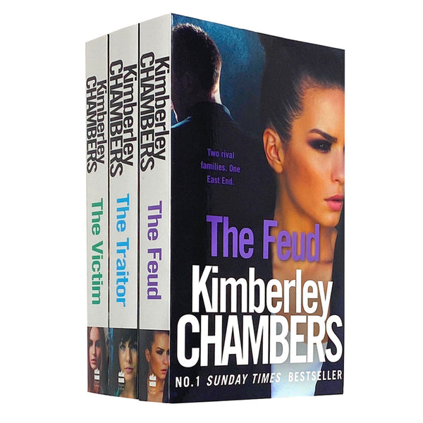 Kimberley Chambers Trilogy Mitchells Collection 3 Books Set