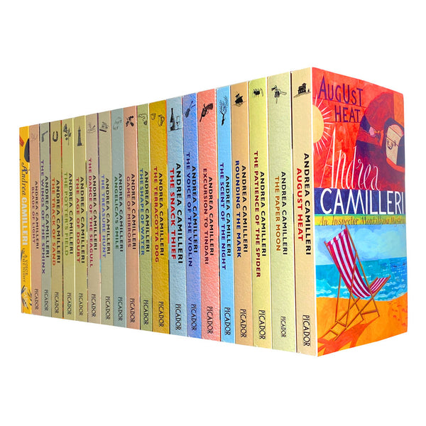 Inspector Montalbano Mystery Books 1-20 Collection Set by Andrea Camilleri