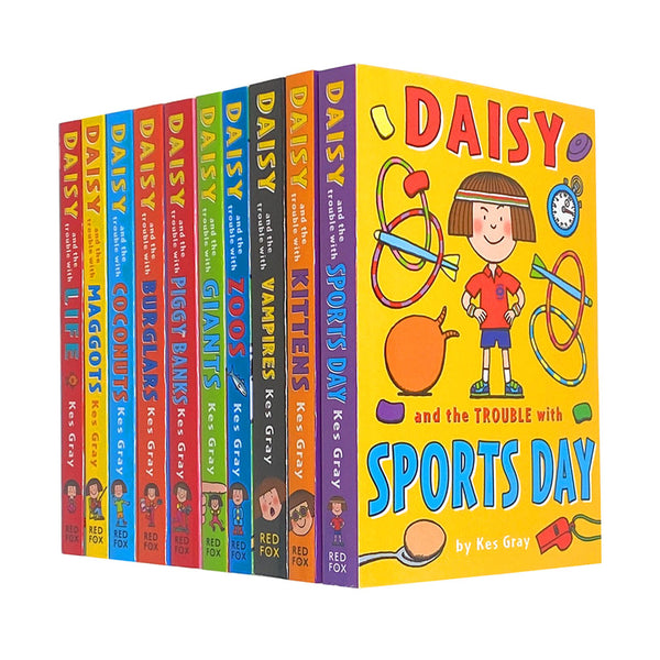 Daisy and the Trouble Collection Pack Kes Gray 10 Books Set