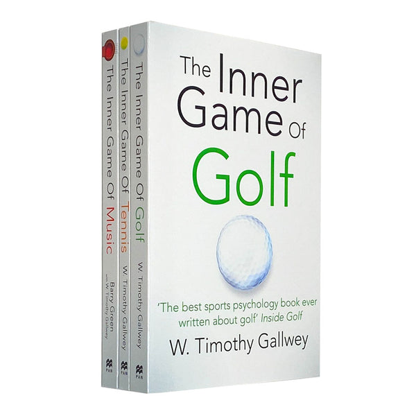 W Timothy Gallwey Collection 3 Books Set...