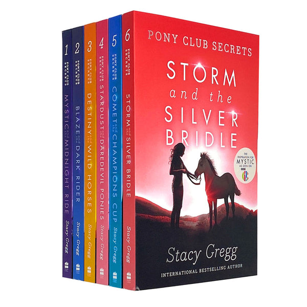 Stacy Gregg Pony Club Secrets Series 1-6 Books Collection Set