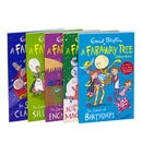 A Faraway Tree Adventure 5 Book Set Collection By Enid Blyton, In Santa Claus's Castle, The Land of Dreams...