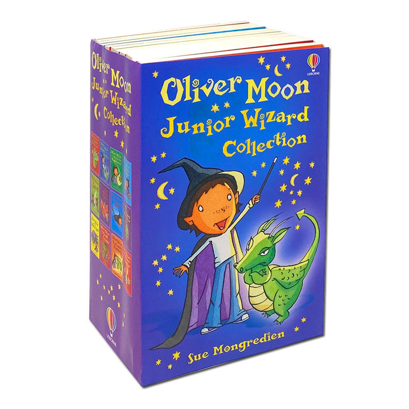 Oliver Moon Junior Wizard Series Collection 12 Books Set by Sue Mongredien