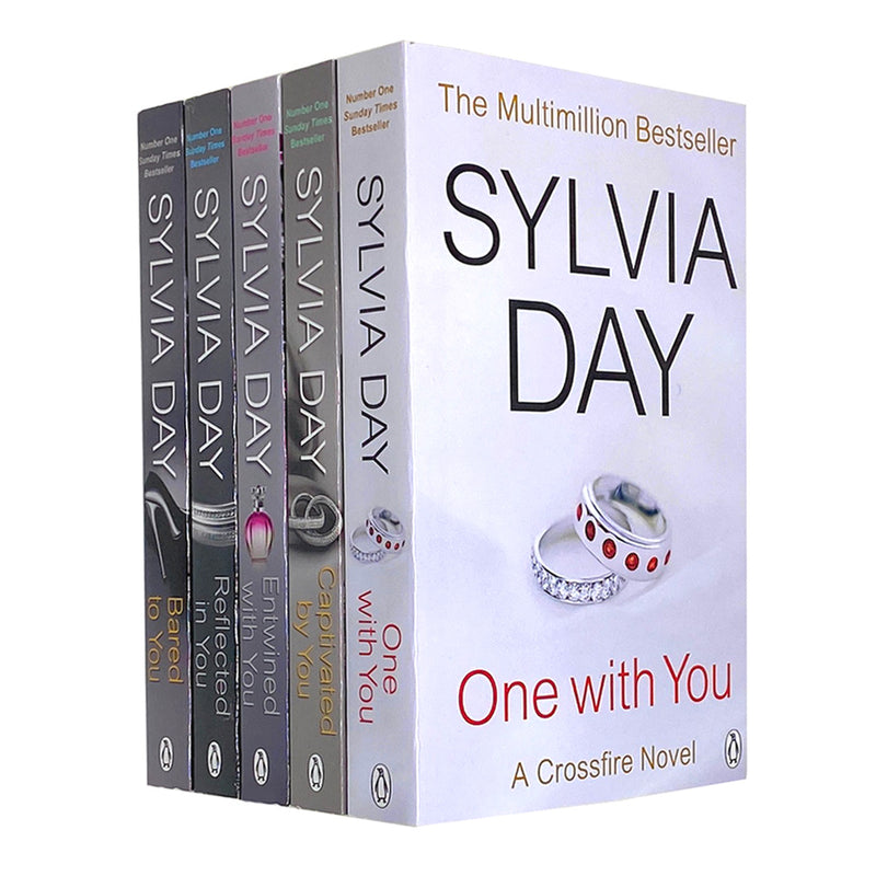 A Crossfire Novel 5 Books Collection Set By Sylvia Day One With You