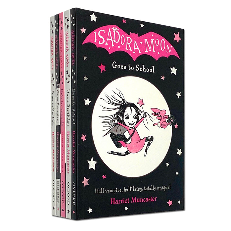 Isadora Moon 5 Books Children Collection Pack Paperback Set By Harriet Muncaster