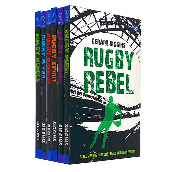 Gerard Siggins Rugby Heroes Series Collection 6 Books Set Pack