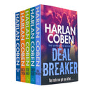 Myron Bolitar Series Collection 5 Books Bundle Set By Harlan Coben