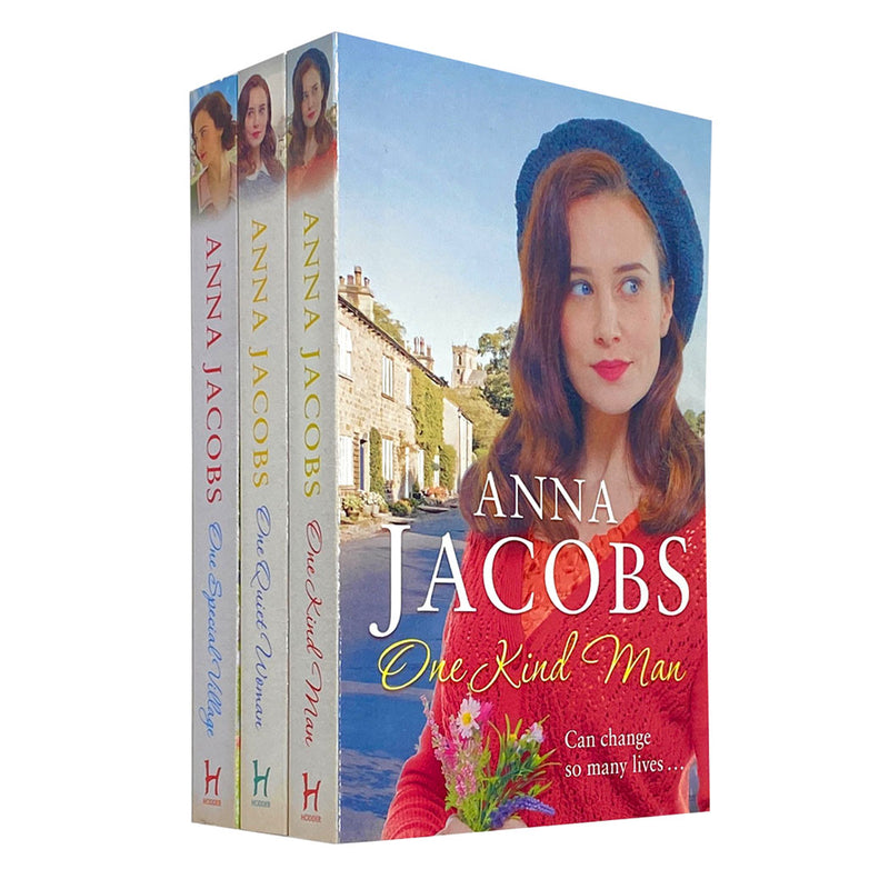 Anna Jacobs Ellindale Series 3 Books Collection Set,One Quiet Woman,One Kind Man