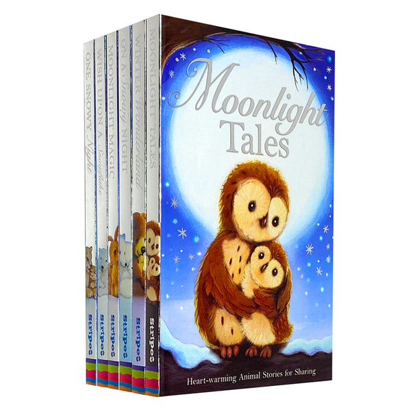 Winter Animal Tales 6 Books Collection (Moonlight Tales,Winter Wonderland..)