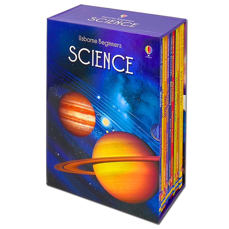 Usborne Beginners Science Series Collection 10 Books Box Set