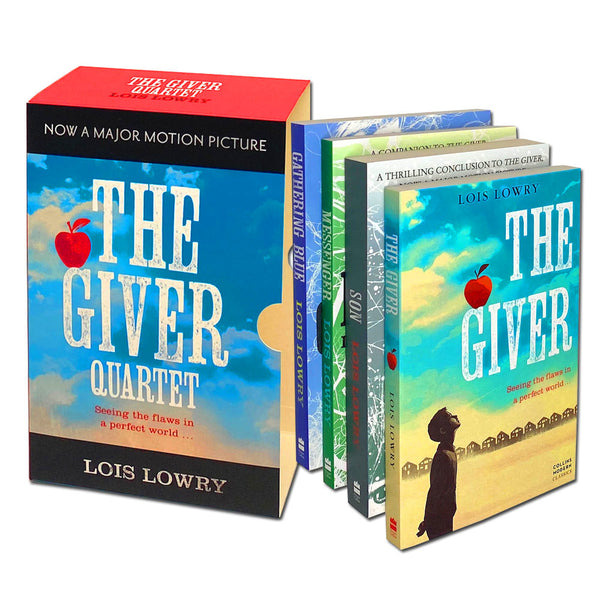 The Giver Quartet Complete Series 4 Books Collection Box Set By Lois Lowry