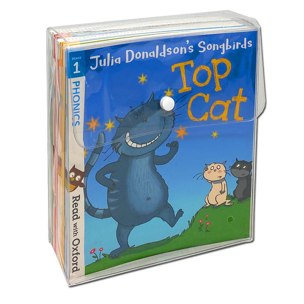 Julia Donaldson's Songbirds Read with Oxford Phonics 36 Books Collection Set (Stage 1 - 4)