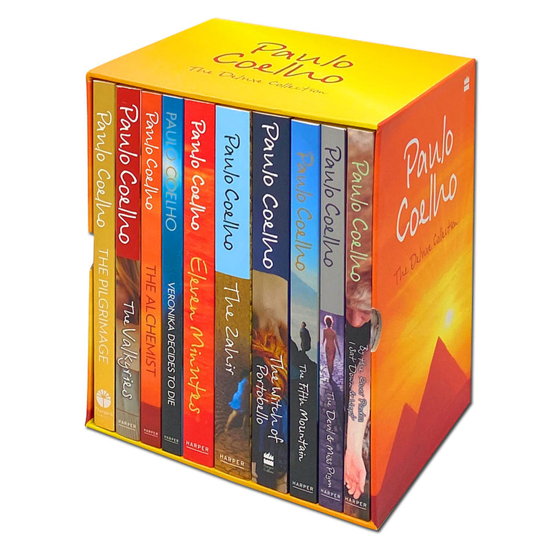 Paulo Coelho The Deluxe Collection 10 Books Box Set Alchemist, Zahir