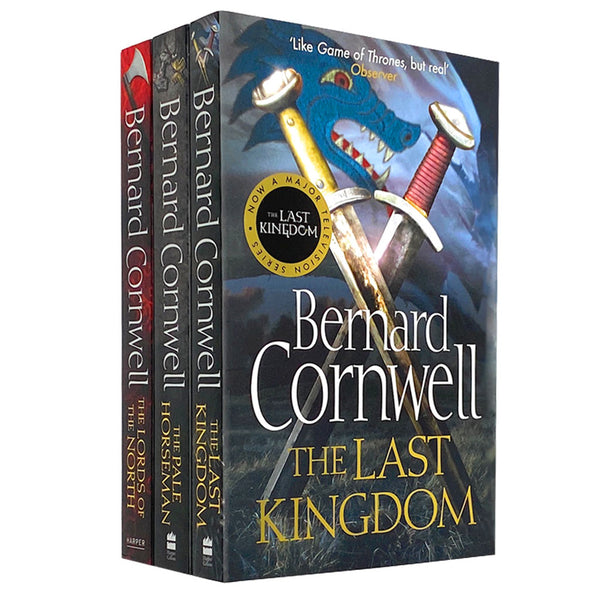 Bernard Cornwell The Last Kingdom 3 Books Set Collection Series