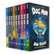 Dav Pilkey 10 Books Collection Set Adventures of Dog Man Series Inc World Day Book
