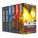 David Baldacci Collection King and Maxwell Series Simple Genius 6 Books Set