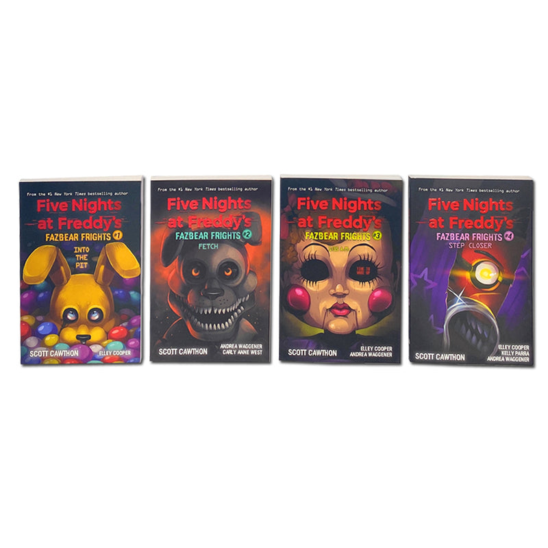 Five Nights at Freddys 4 Books Boxed Set by Fazbear Frights