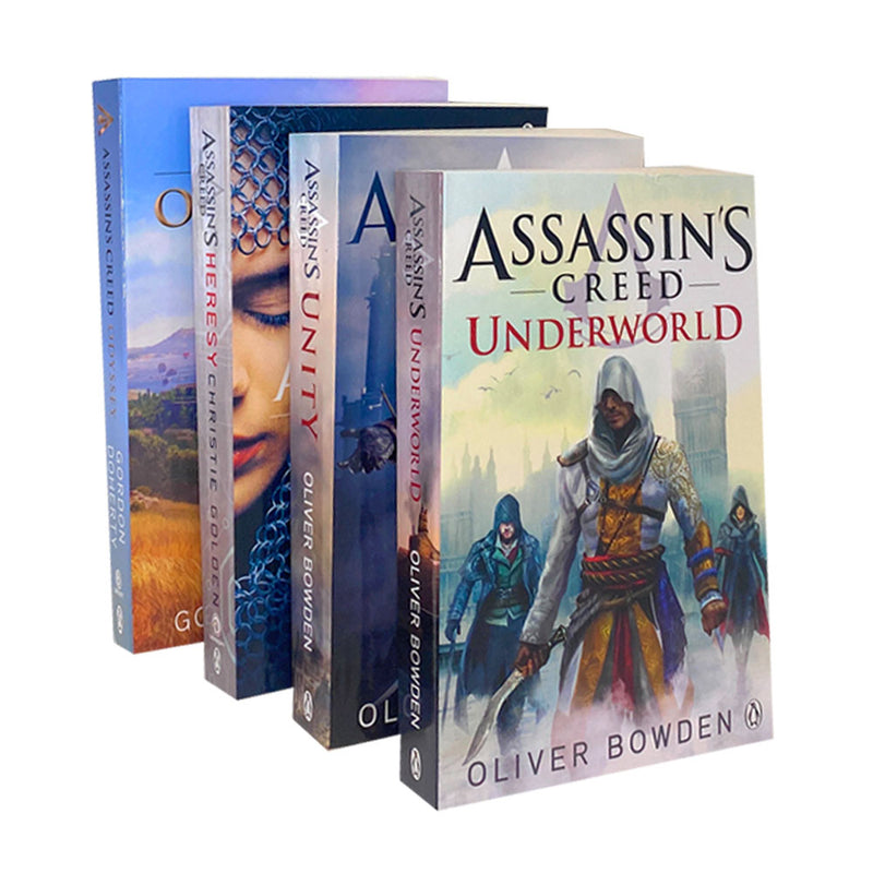 Unity Underworld Heresy Desert Oath Assassin's Creed 4 Books Collection Set