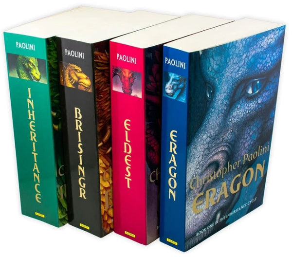 The Inheritance Cycle Series Christopher Paolini 4 Book Set Collection
