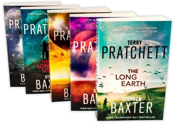 The Long Earth The complete Collection 5 Book Set - Terry Pratchett and Stephen Baxter
