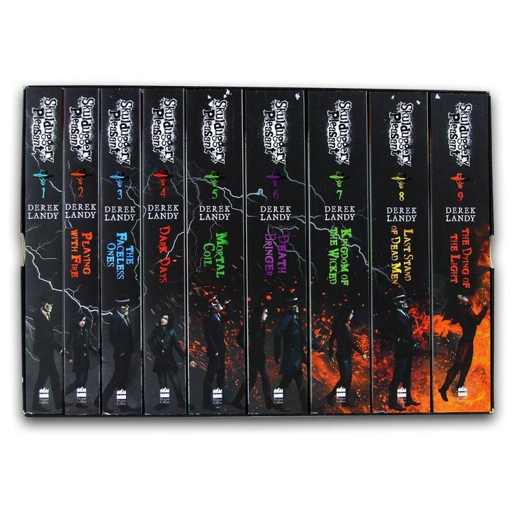 Skulduggery Pleasant x 9 Derek Landy Books Box Set Collection