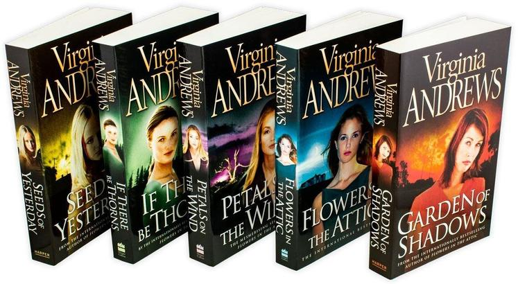 Flowers in the Attic Virginia Andrews Books, 5 Books Collection Set Dollanganger Family Pack