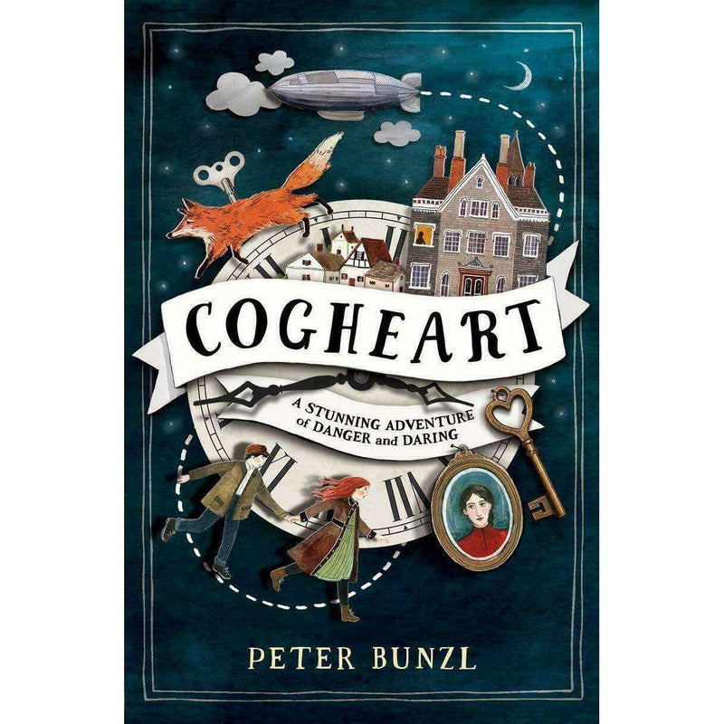 A Cogheart Adventure Series Collection 4 Books Collection Set By Peter Bunzl