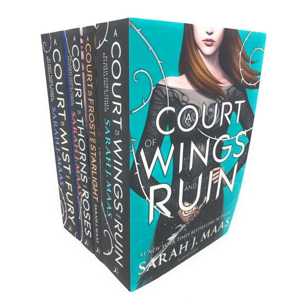 A Court Of Wings And Ruin Series Collection 4 Books Set Sarah J Maas