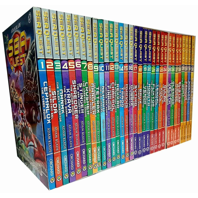 Adam Blade Sea Quest Series 1-8 Collection 32 Books Set Collection