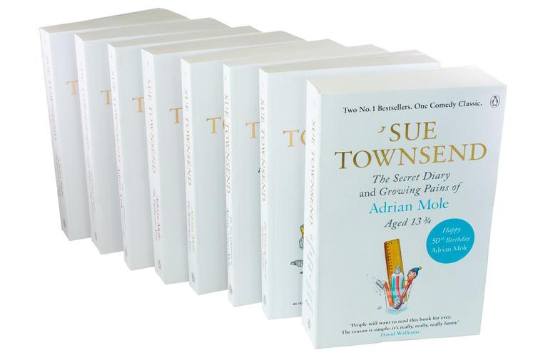 Sue Townsend Adrian Mole Series 8 Books Set Collection, The prostrate Years