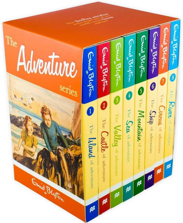 Adventure series x 8 Books Box Set Collection Childrens Classic Books by Enid Blyton